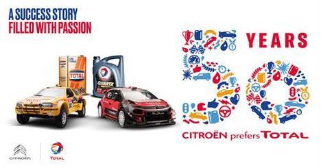 Citroën y Total, 50 años de colaboración