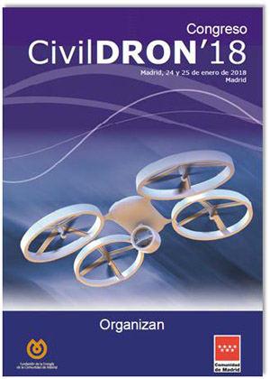 Droniberia participa en la cuarta edición de CivilDRON, Congreso sobre las Aplicaciones de los Drones a la Ingeniería Civil
