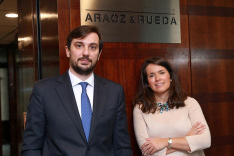 Guillermo Bueno y Clara Mañoso, Araoz & Rueda.