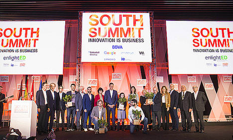 La startup Amadix, gran triunfadora de South Summit 2018