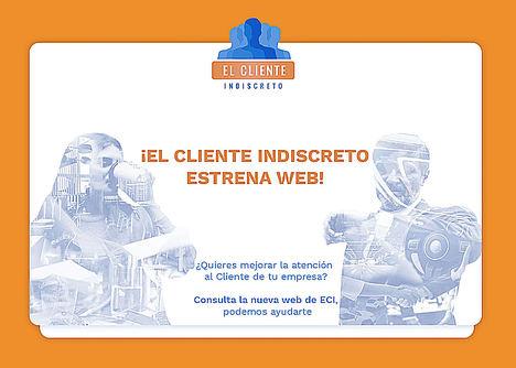 Cliente Indiscreto, primera empresa en España de Mystery Shopping, lanza su nueva web