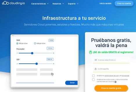 Clouding.io duplica facturación y clientes en 2020