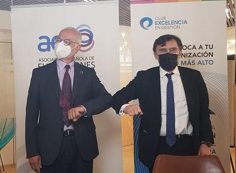 El Club Excelencia en Gestión firma un convenio de colaboración con la Asociación Española de Fundaciones