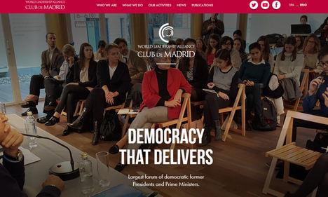 53 Miembros del Club de Madrid firman una carta de Gordon Brown solicitando una reunión urgente del G20 para afrontar las consecuencias del COVID-19
