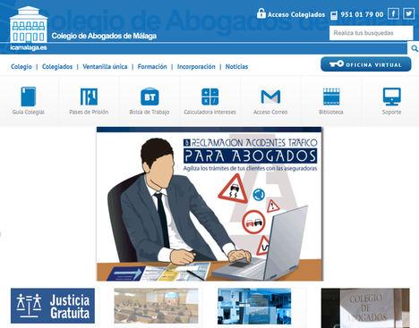 El Colegio de Abogados de Málaga llevará a la Junta de Andalucía a los tribunales por la Orden de 13 febrero de Justicia Gratuita