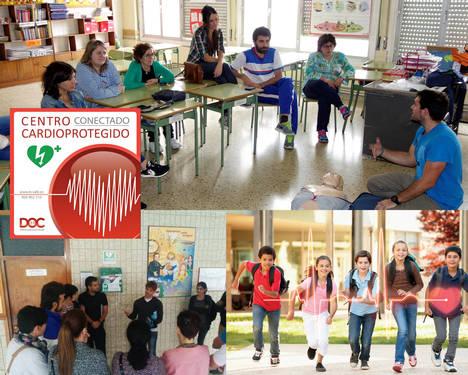 B+Safe lleva la cardioprotección a 100.000 escolares españoles