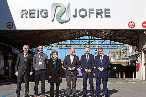 Colocación de la Primera Piedra de la ampliación de la planta de medicamentos inyectables estériles de Reig Jofre