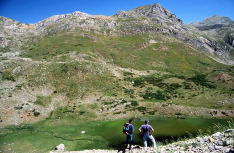 Comarca de Babia. Laguna de Las Verdes