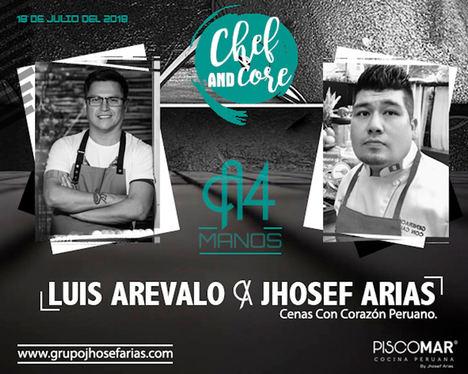 Cenas con Corazón en Restaurante Piscomar by Jhosef Arias