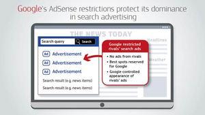 La Comisión Europea impone una multa a Google de 1,49 miles de millones de euros por prácticas abusivas en la publicidad en línea