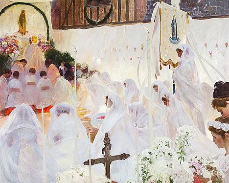 Communion Bretone de Gaston La Touche.