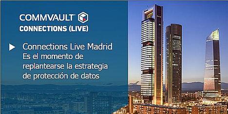Commvault Connections Live llega a Madrid el próximo 10 de abril
