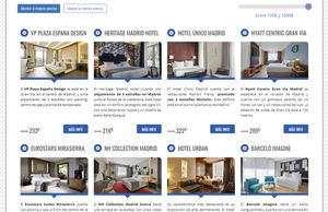 Comparador de hoteles en Madrid - Hotelescincoestrellas.net