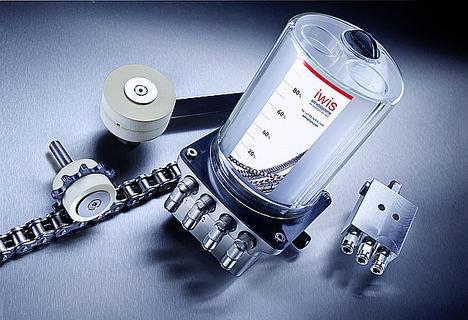 Composición individual del sistema de lubricación CLA de iwis.