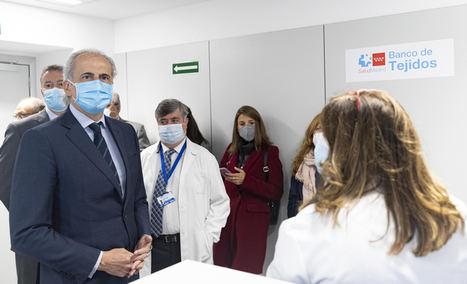 La Comunidad de Madrid impulsa la donación de tejidos para el trasplante de córneas, huesos y tendones