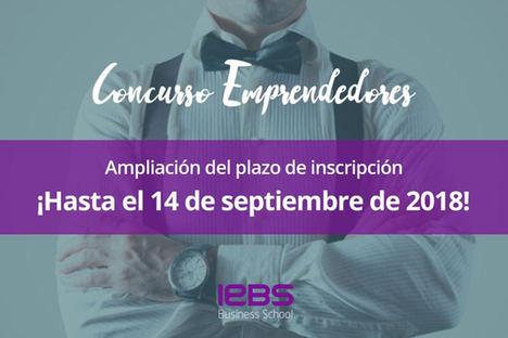 IEBS amplía el plazo de inscripción para su Concurso de Emprendedores