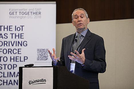 Conferencia climática sitúa al 'IoT' y el 'Smart Data' como claves del futuro de la inversión en renovables