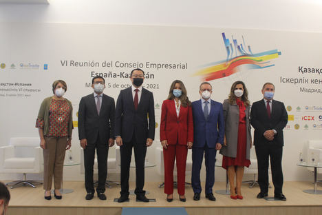 España y Kazajistán promueven sus intercambios comerciales y la inversión