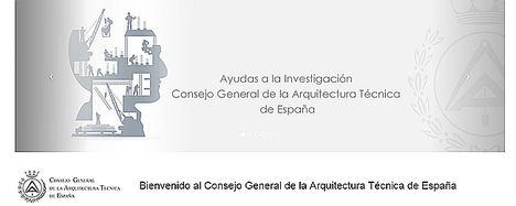El Consejo General de la Arquitectura Técnica destina 17.000 euros a las ayudas a la investigación