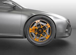 Continental presenta un innovador concepto de frenos para vehículos eléctricos
