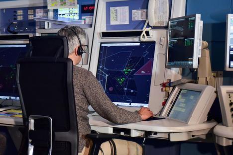 ENAIRE registra en abril una caída del número de vuelos cercana al 95% como consecuencia de la pandemia de COVID-19