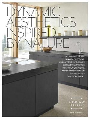 Corian® Design presenta sus nuevas estéticas, que estimulan la creatividad y expanden las posibilidades del diseño