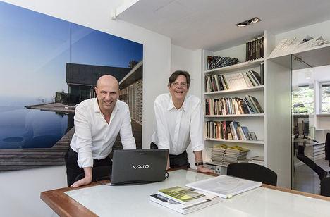 Corona-Amaral Arquitectos ultima en Abama un impresionante proyecto de 10 villas de lujo