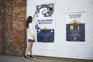 Corona intercambia ventas por plástico durante la Semana Mundial de los Océanos como parte de su misión de protección de paraísos junto a Parley