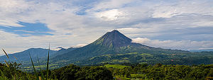 Costa Rica, Volcán Arenal.