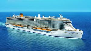 Costa Cruceros incrementará su capacidad en un 43% hasta 2021