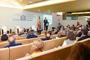 Antón Costas confía en que los fondos europeos sirvan para reforzar el proyecto de España como país