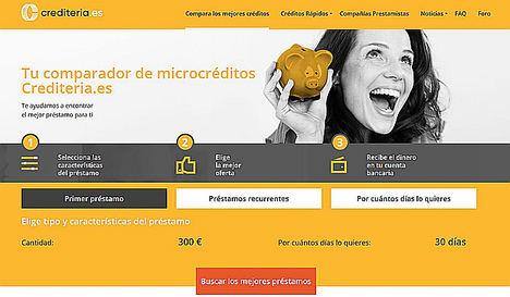 Crediteria.es, el nuevo comparador de préstamos dispuesto a revolucionar el mercado de los créditos online