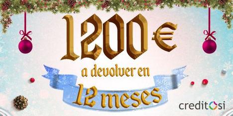 CreditoSí lanza una promoción de créditos sin interés para poder pasar unas Navidades mágicas