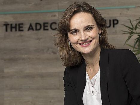 Cristina Expósito, Digital Sales Manager del Grupo Adecco en España.