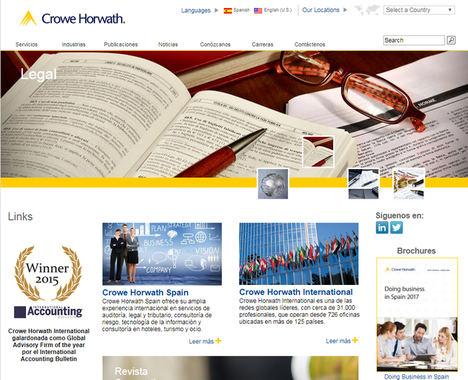 Crowe Horwath aumenta un 4% la facturación global