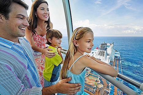 Las familias españolas se pueden ahorrar más de 1.000 euros en su crucero contratando con antelación