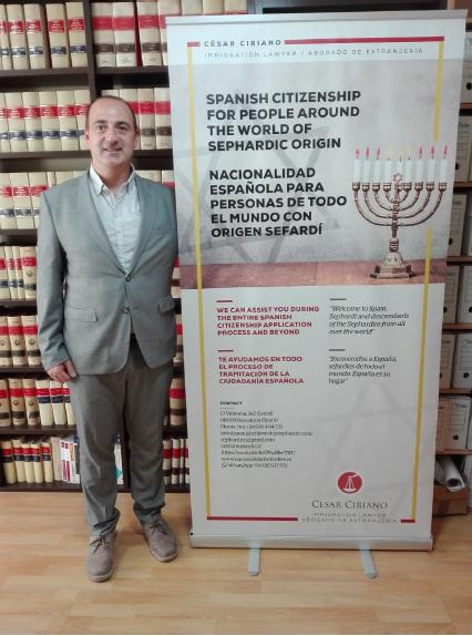 ¿Cuál es el plazo para firmar ante notario la nacionalidad española sefardí en 2021/22? Según César Ciriano