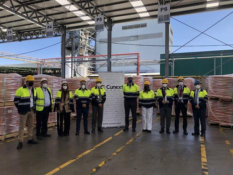 Velasco pone a Cunext como ejemplo de la proyección internacional de la industria metalúrgica andaluza