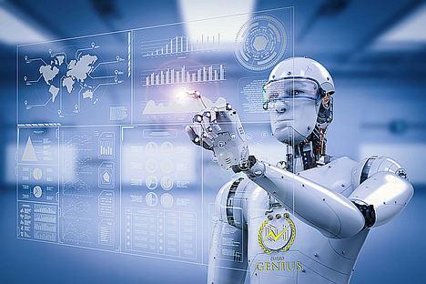 GeniusBot, el primer RoBot que ayuda a los estudiantes