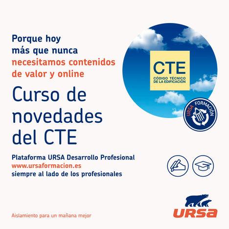 URSA lanza un nuevo curso online y gratuito sobre las novedades del CTE