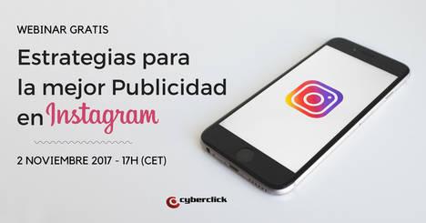 Cyberclick organiza una formación gratuita para mejorar la publicidad en Instagram