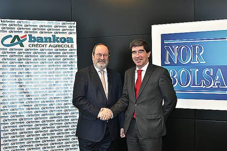 Bankoa Credit Agricole adquiere un 5% del capital de Norbolsa