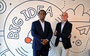 D. Raja, socio fundador de CEI y propietario de CEI Europe y Jordi Marin, CEO de CEI Europe.