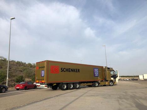 DB Schenker apuesta por Zaragoza como uno de los principales hubs logísticos de España