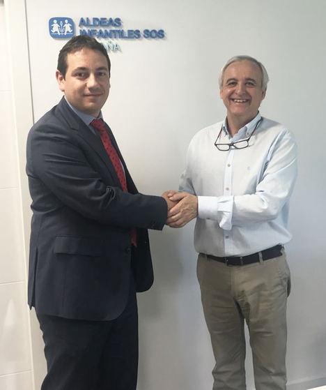 DHL Freight adquiere un compromiso de colaboración con Aldeas Infantiles como