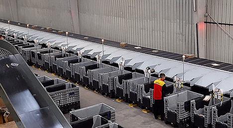 DHL Parcel invierte 5 millones de euros para incrementar el volumen de paquetes gestionados