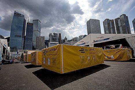 DHL y el Campeonato ABB FIA Formula E celebran juntos sus hitos más importantes