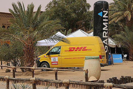 DHL continuará ofreciendo apoyo logístico a la Garmin Titan Desert