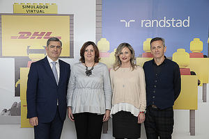 DHL y Randstad inauguran un innovador Centro de Formación Avanzada