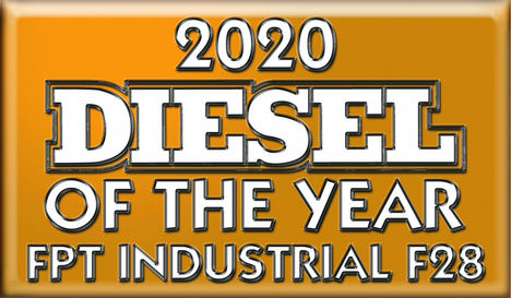 "FPT Industrial F28 ""Diesel of the Year®"" 2020 visualizado en Conexpo Show"